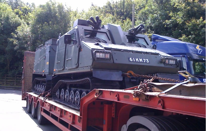 decommissioned italian tank abnormal loads lobina transport